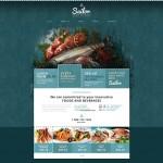 Шаблон Sailor для ресторана морепродуктов №145