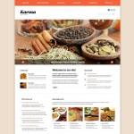 Шаблон Karma для индийского ресторана №159