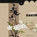 Шаблон White Sakura для китайского ресторана №162