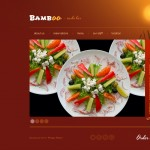 Шаблон bamboo для суши-бара №172