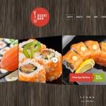 Шаблон Sushi Bar для суши-бара №176