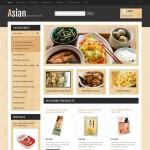 Шаблон Asian для азиатского ресторана №180