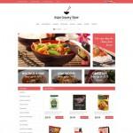 Шаблон Asian Grocery Store для азиатского ресторана №182