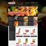 Шаблон Asian Grocery Store для азиатского ресторана №183