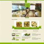Шаблон Vegetarian Cuisine для вегетарианского ресторана №186