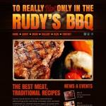 Шаблон Rudy's BBQ для барбекю ресторана №187