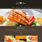 Шаблон Grill Point для барбекю ресторана №188