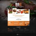 Шаблон BBQ House для барбекю ресторана №189