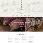 Шаблон BBQ для барбекю ресторана №195