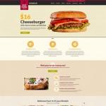 Шаблон Fast Food Restaurant для ресторана фаст-фуда №215
