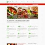 Шаблон Fast Food Restaurant для ресторана фаст-фуда №221