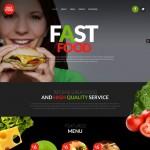 Шаблон Fast Food Restaurant для ресторана фаст-фуда №223