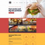 Шаблон Fast Food Restaurant для ресторана фаст-фуда №226