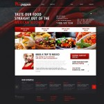 Шаблон Hot Pepper для мексиканского ресторана №302