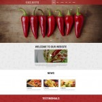 Шаблон Mexican Pepper для мексиканского ресторана №306