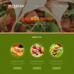 Шаблон Mexican для мексиканского ресторана №307