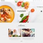Шаблон Mexican для мексиканского ресторана №309