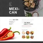 Шаблон Mexican NY для мексиканского ресторана №310