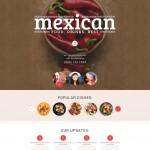Шаблон Mexican для мексиканского ресторана №312