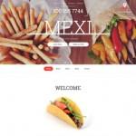 Шаблон Mexi для мексиканского ресторана №313