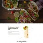 Шаблон Hidalgo для мексиканского ресторана №315