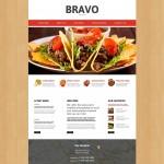 Шаблон Bravo для испанского ресторана №316