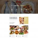 Шаблон Taste Test для испанского ресторана №317