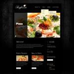 Шаблон Raffinato для итальянского ресторана №324