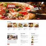 Шаблон Enzo Italian для итальянского ресторана №335