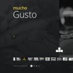 Шаблон Mucho Gusto для итальянского ресторана №341