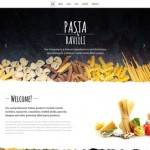 Шаблон Pasta Ravioli Italy для итальянского ресторана #366