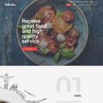 Шаблон Delicatos для итальянского ресторана #367