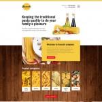 Шаблон Gnocchi для итальянского ресторана #368