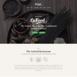Шаблон La Food для итальянского ресторана #416