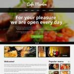 Шаблон Cafe Marlon для кафе #459