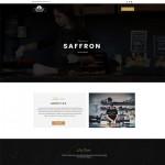 Шаблон Saffron для кафе #738