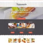 Шаблон Raimondo для европейского ресторана #408