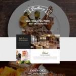 Шаблон Foodhouse для европейского ресторана №433