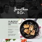 Шаблон Jonathan & Co для европейского ресторана №434