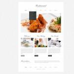 Шаблон Restaurant Classic для ресторана #454