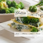 Шаблон Glutton для европейского ресторана #456