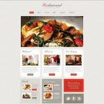 Шаблон Restaurant Classic для европейского ресторана #458