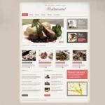 Шаблон Classic European Cuisine для ресторана №473