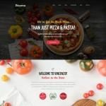 Шаблон Vincenzo для пиццерии #741