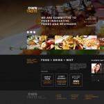 Шаблон Own Taste для ресторана #469