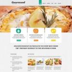 Шаблон Gourmand для ресторана #476