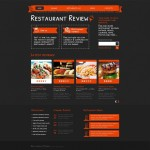 Шаблон Review для ресторана #478