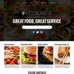 Шаблон Restaurant для ресторана #479
