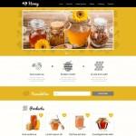 Шаблон Honey для медового магазина #503