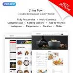Шаблон China Town для китайского ресторана #745